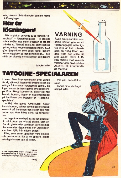 C3P0s Stjärnsidor - Tatooine Specialaren