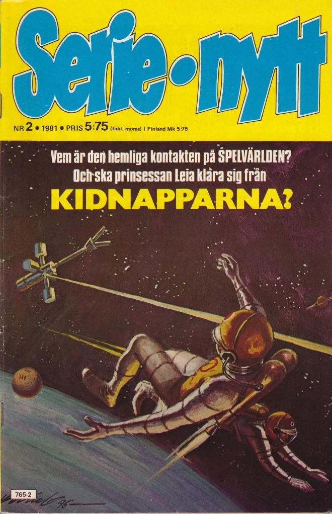Serie nytt Nr 2 - 1981 - Kidnapparna