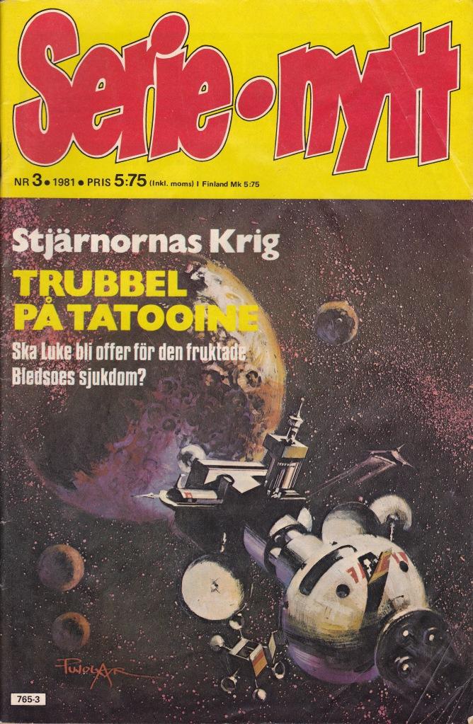 Serie Nytt Nr 3 - 1981