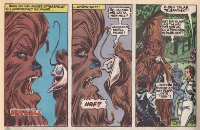 Chewie får oväntat kontakt med Pliff, Hojibbernas ledare