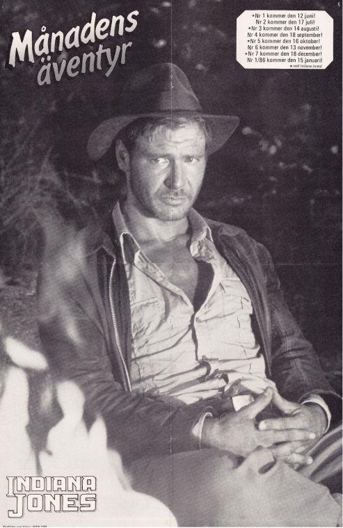 Poster - B sida - Indiana Jones