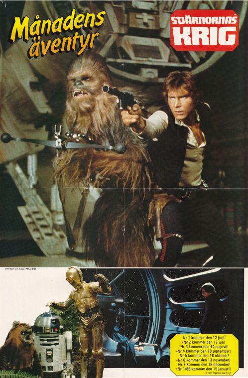 Poster - A sida - Stjärnornas Krig
