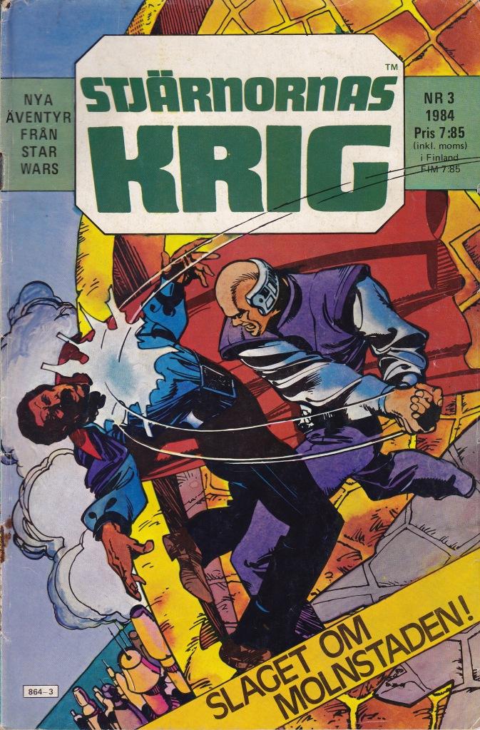 Stjärnornas Krig Nr 3 - 1984