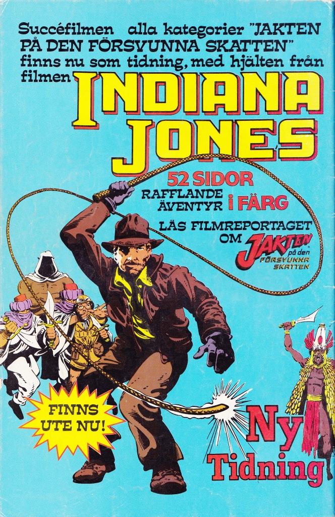 Ny Tidning! Indiana Jones!