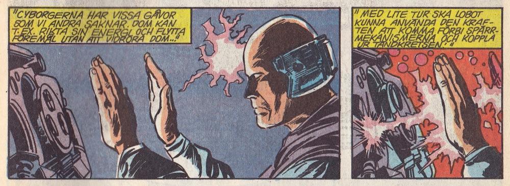 Cyborg telekeni, en oväntad egenskap...