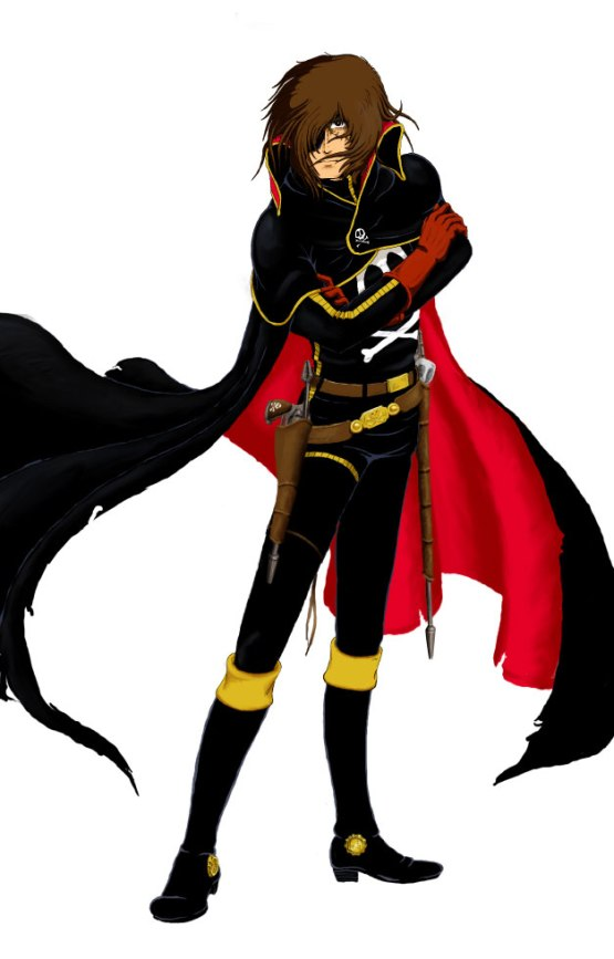 Spacepirate Captain Harlock