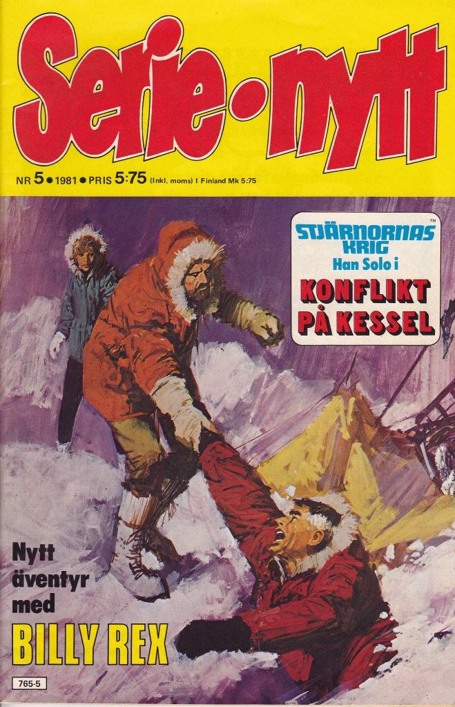 Serie-nytt Nr 5 1981
