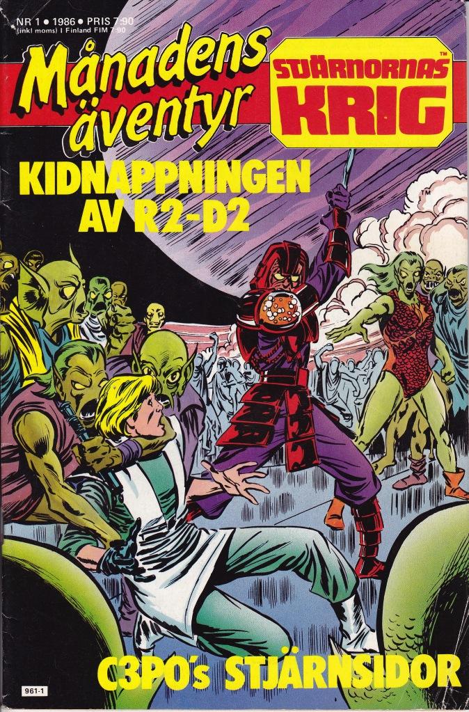 Månadens Äventyr Nr1 - 1986