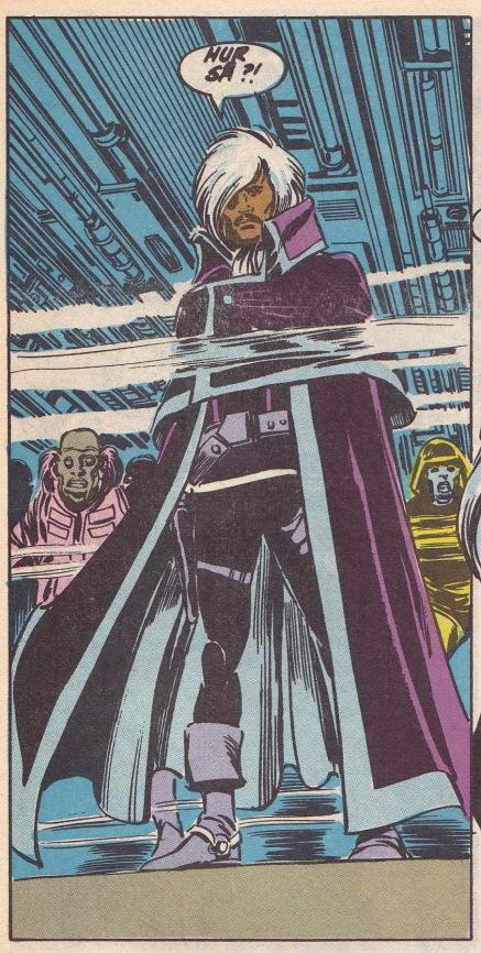 Captain Drebble - aka Lando Calrissian