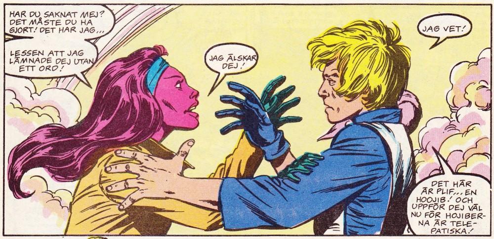 Ja se den kärleken... panel ur Måndens Äventyr Nr 1 - 1986