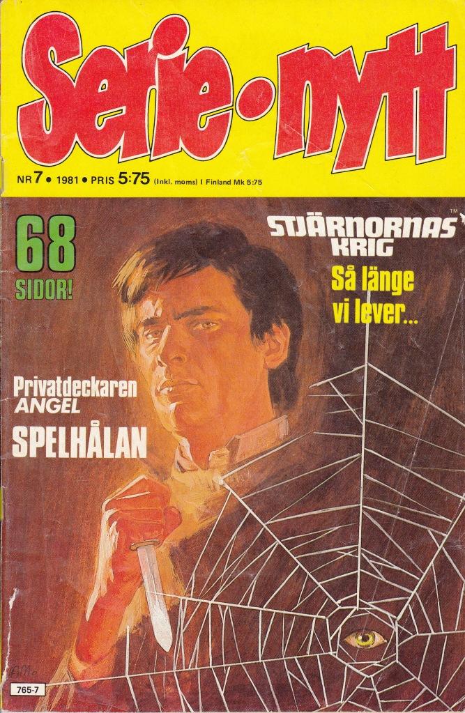 Serie-Nytt Nr 7 - 1981