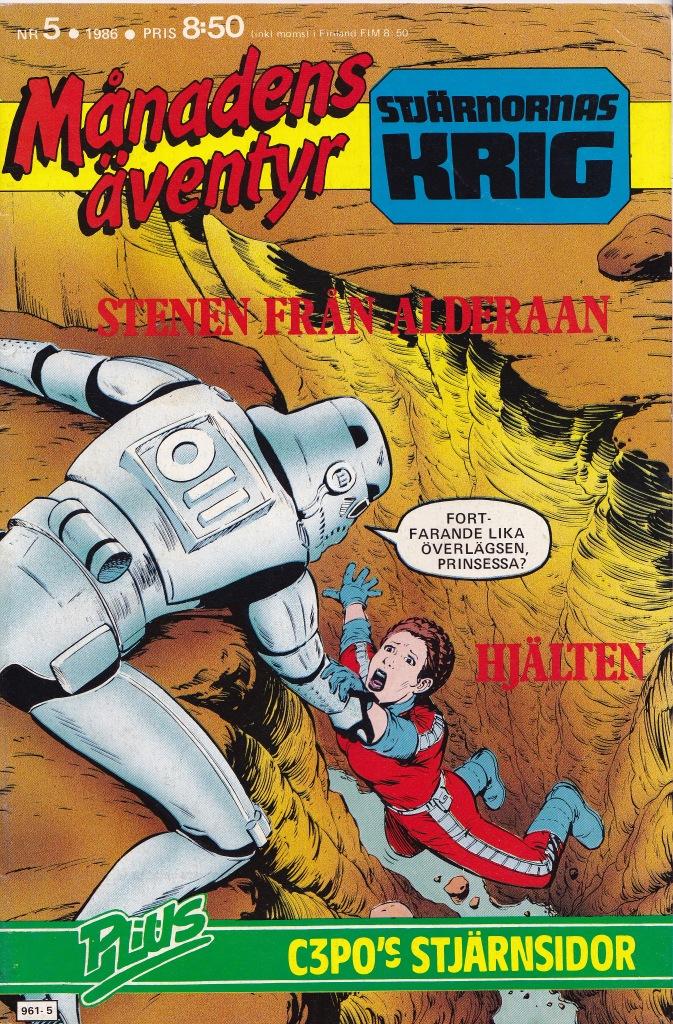Månadens Äventyr Nr 5 - 1986