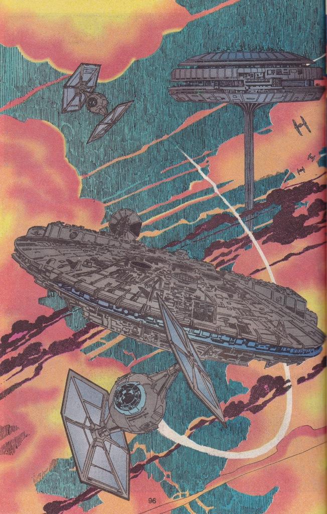 Nyinsatt helsida - Falken flyr från Bespin