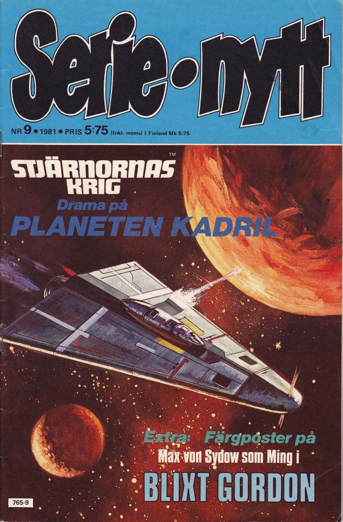 Serie-Nytt Nr 9 - 1981