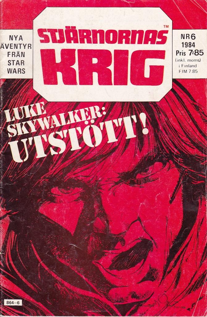 Stjärnornas Krig Nr 6 - 1984