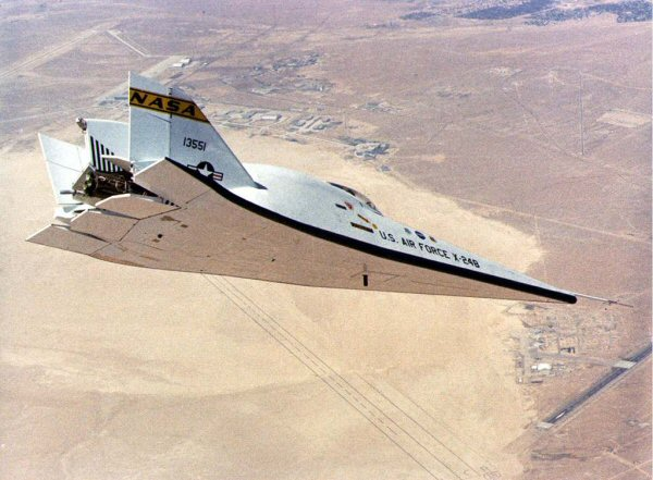 X-24b Lifting body - flygande prototyp