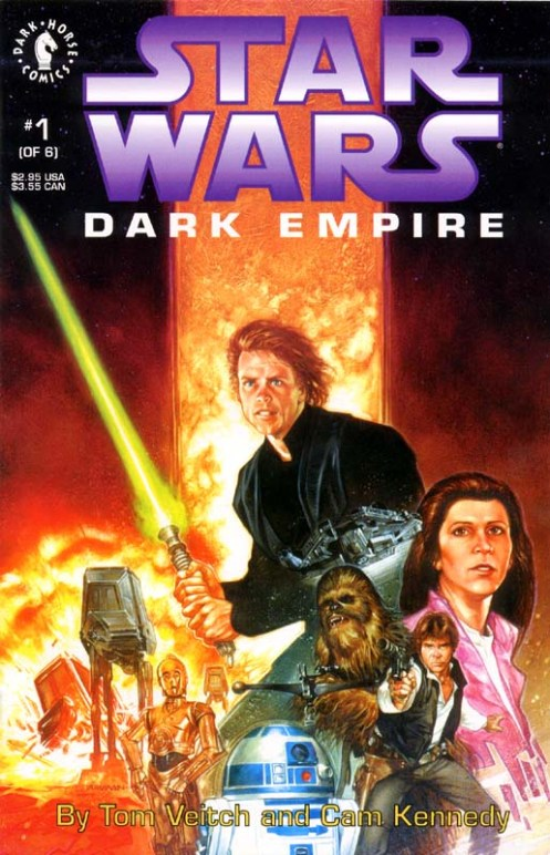 Dark Empire No1