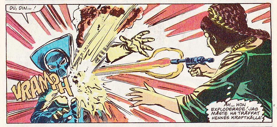 Leia stoppar Lumiya - för den här gången...