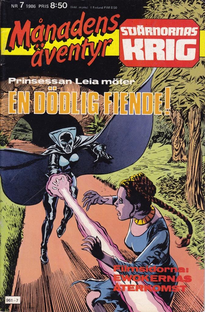 Månadens Äventyr Nr 7 - 1986
