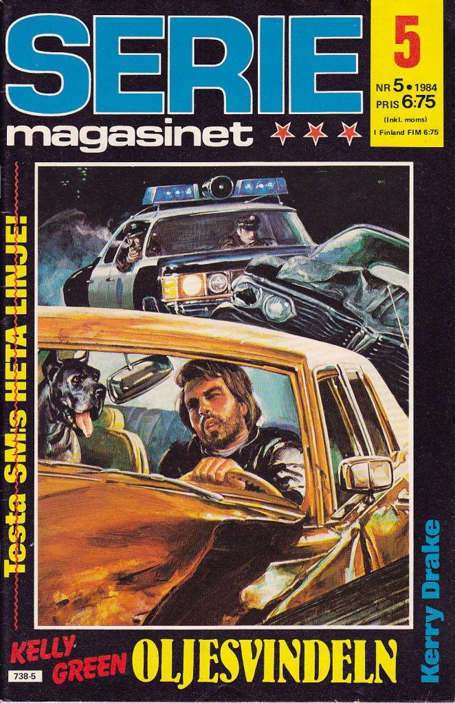 Seriemagasinet Nr 5 - 1984