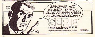 Seriemagasinet reklam