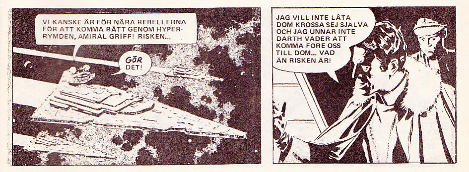 Amiral Griff kommenderar sin Star Destroyerflotta