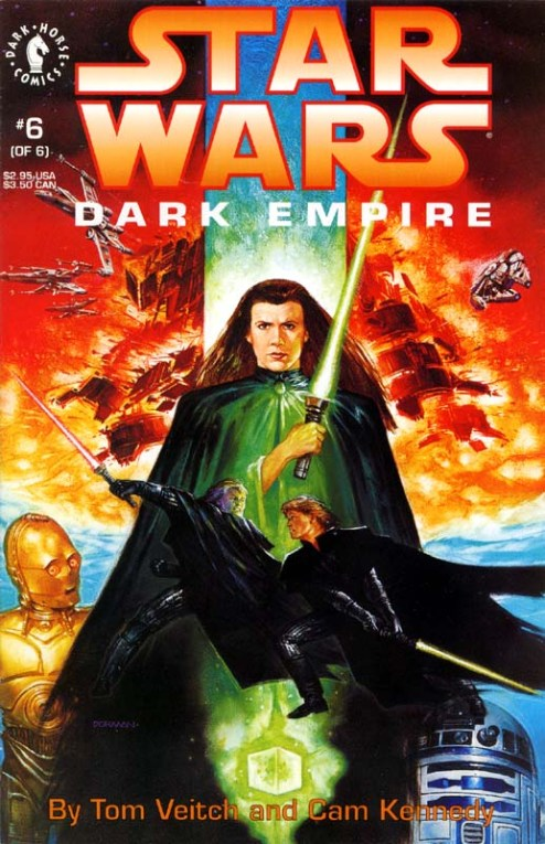 Dark Empire No 6 - 1992