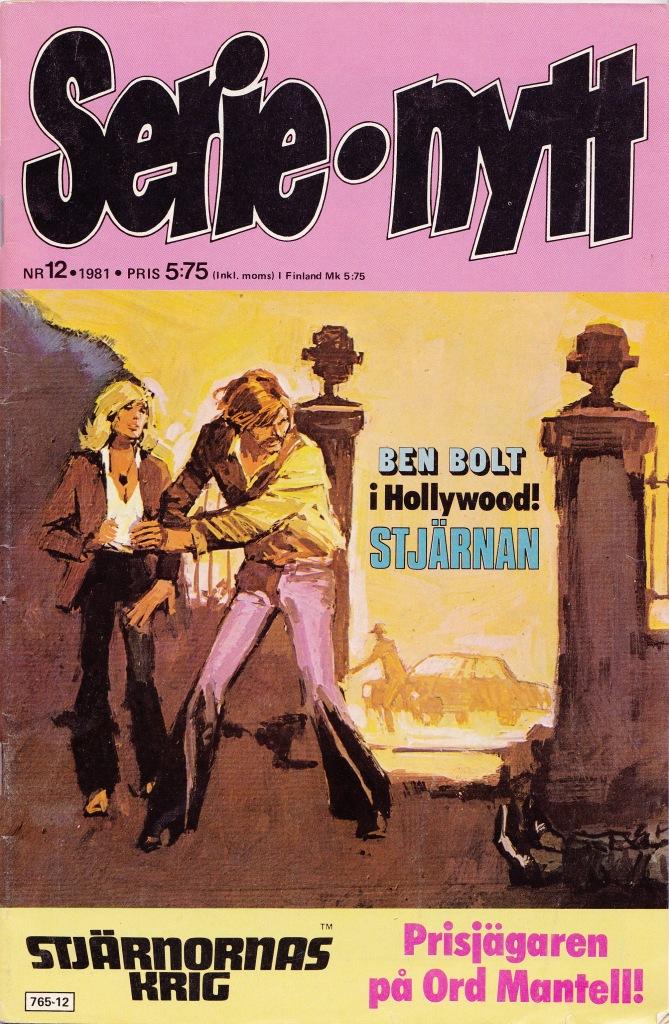 Serie-nytt Nr 12 - 1981