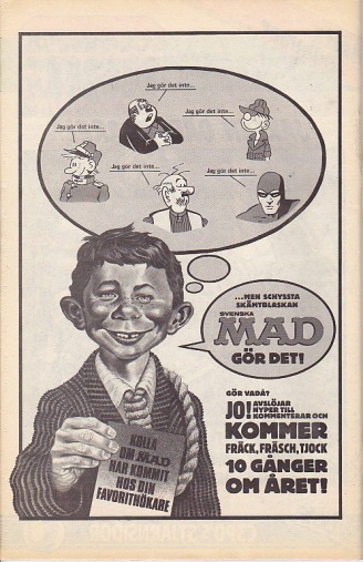 Svenska MAD reklam