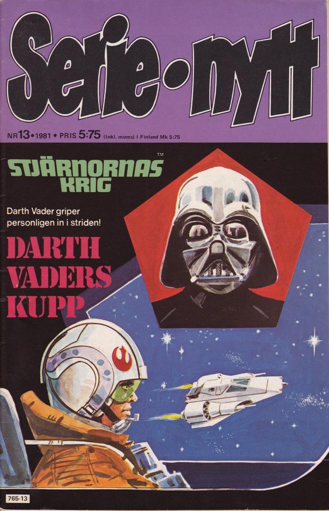 Serie-nytt Nr 13 - 1981