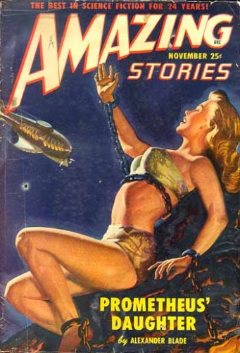 Amazing Stories - Prometheus Daughter