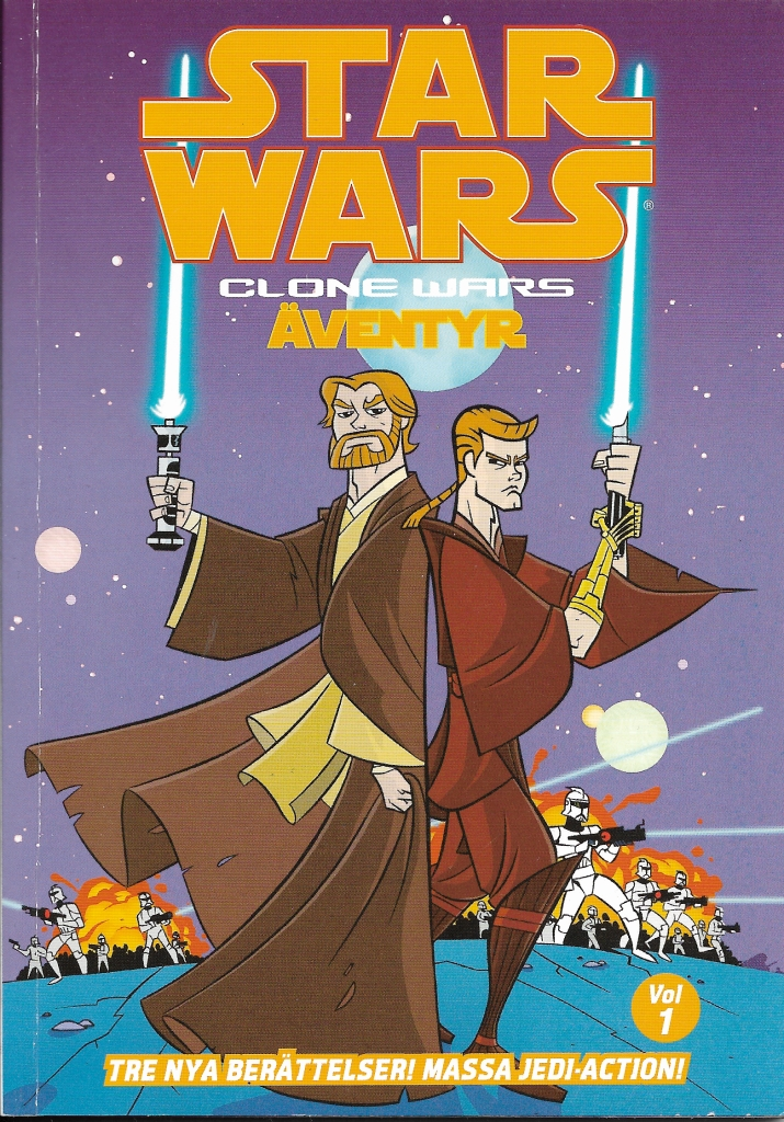 Clone Wars Äventyr - Volym 1
