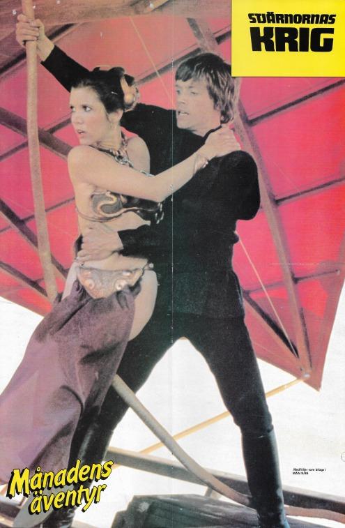 Poster ur Månadens Äventyr Nr 9 - 1986