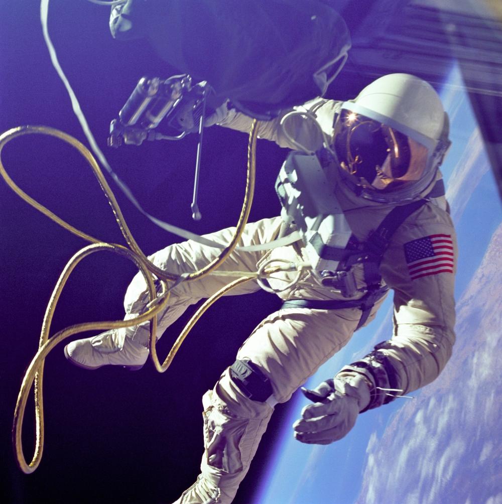 Gemini IV - Ed White - 3 juni 1965