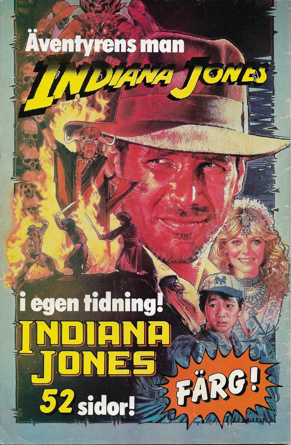 Baksida - Indiana Jones reklam