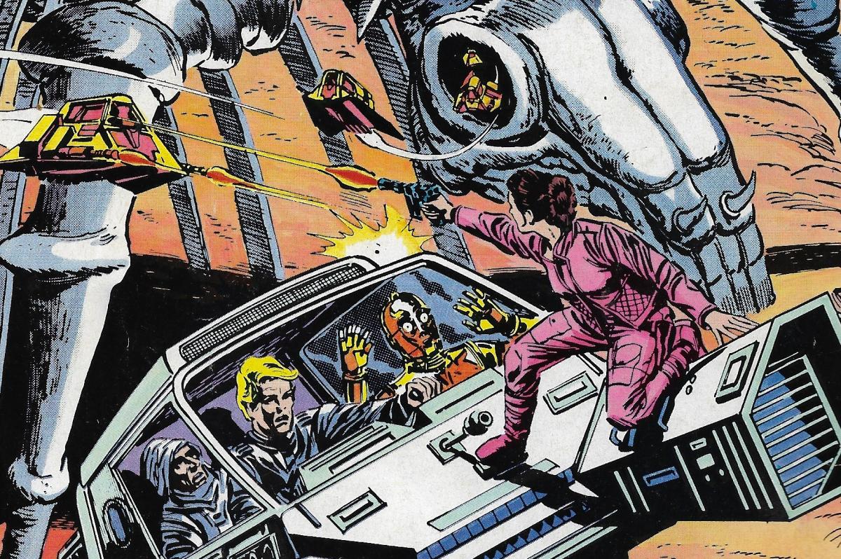 Stjärnornas Krig Nr 1 - 1985