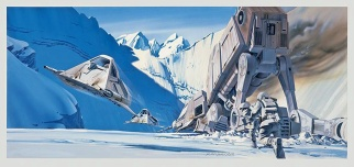 Ralph McQuarrie Snowspeederkoncept